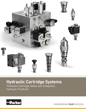 Hydraulic Cartridge Systems Threaded Cartridge Valves and Integrated Hydraulic Products