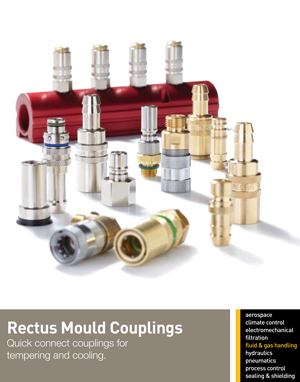Rectus Mould Couplings Quick connect couplings for tempering and cooling