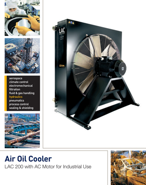 Air Oil Cooler LAC 200 with AC Motor for Industrial Use