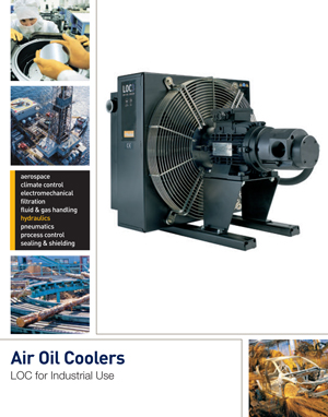 Air Oil Coolers LOC for Industrial Use