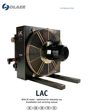 LAC With AC motor - optimized for industrial use Installation and servicing manual