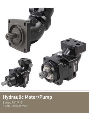 Hydraulic Motor/Pump Series F11/F12 Fixed Displacement