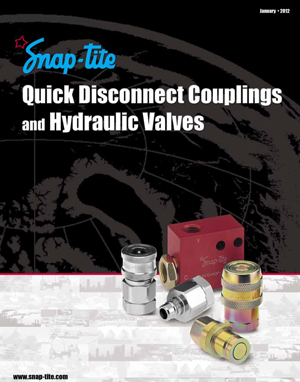 Snap-tite Quick Disconnect Couplings & Hydraulic Valves